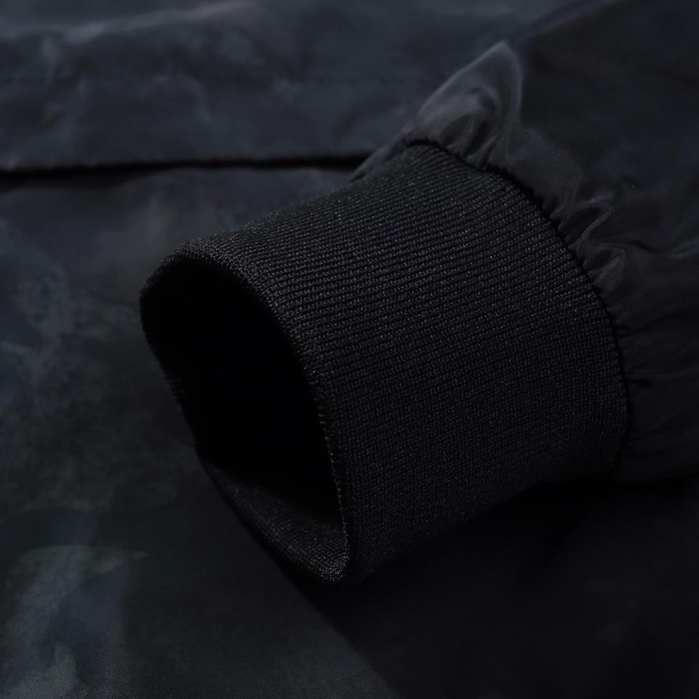 Камуфляж Толстовки с капюшоном на молнии Для мужчин 2017, Новая мода Для мужчин Курточка бомбер Slim Fit пилот Курточка бомбер пальто Для мужчин К...