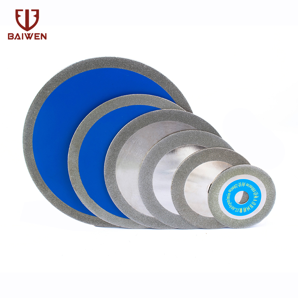 Hot Pressed Diamond Turbo Blade With Slant Protection Teeth Cutting Disc For Stone Bottle  Ceramic Tile Jade100-250mm