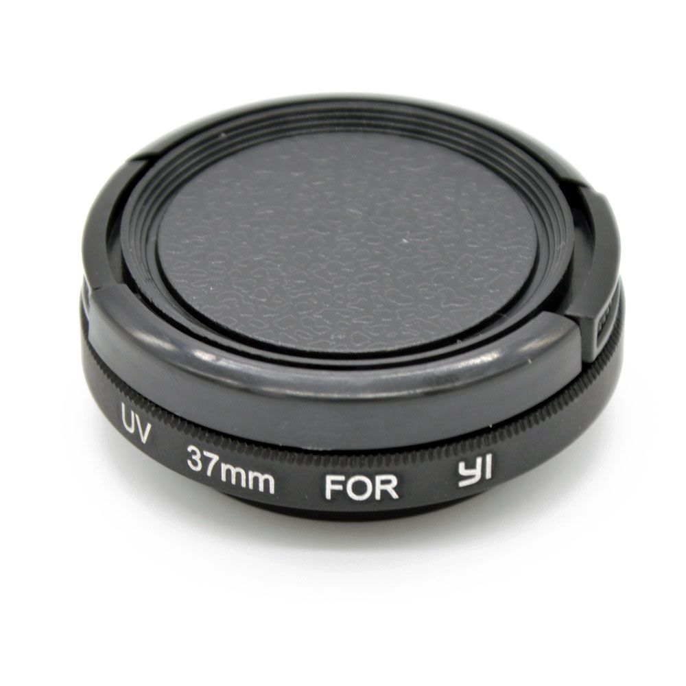 UV Protective Lens Cover Case UV Filter Set For Xiaomi Yi Action Sports Camera
