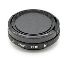 Уф защитная крышка объектива + uv фильтр комплект для xiaomi yi action sports камеры