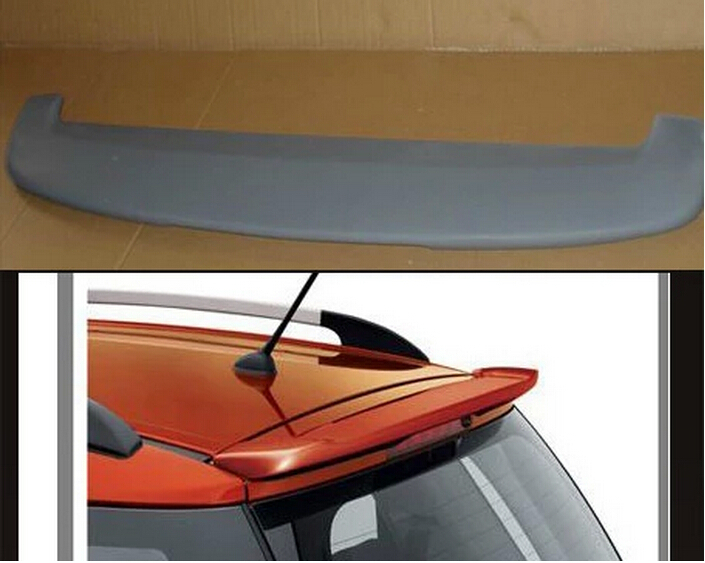 Spoiler For Suzuki SX4 2005-2016 High Quality Rear Wing Spoilers Trunk Lid Diffuser for suzuki sx4 s cross 2013 2014 automobile chrome rear door trunk lid cover trim car styling stickers accessories