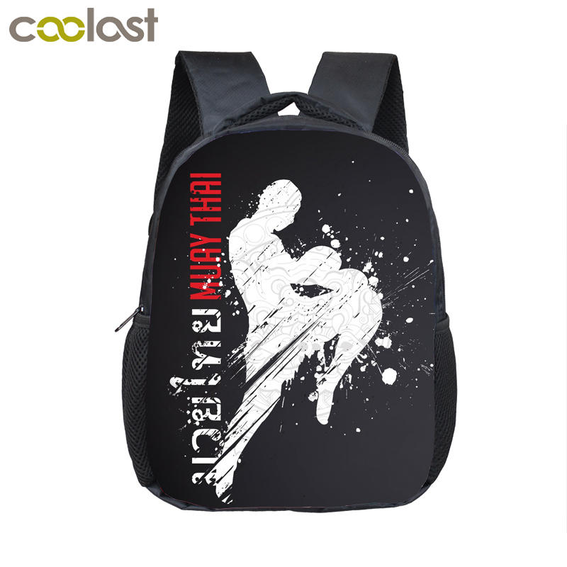 Judo Children School Bags Kindergarten Backpacks Wrestling Kung Fu Preschool Backpacks For Boys Girls Book Bag Kids Mochilas 3d