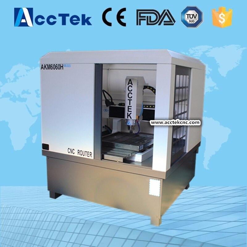 AccTek High Precision 3d Cnc Milling Machine For Metal /cnc Router Machine For Metal Mould Engraving
