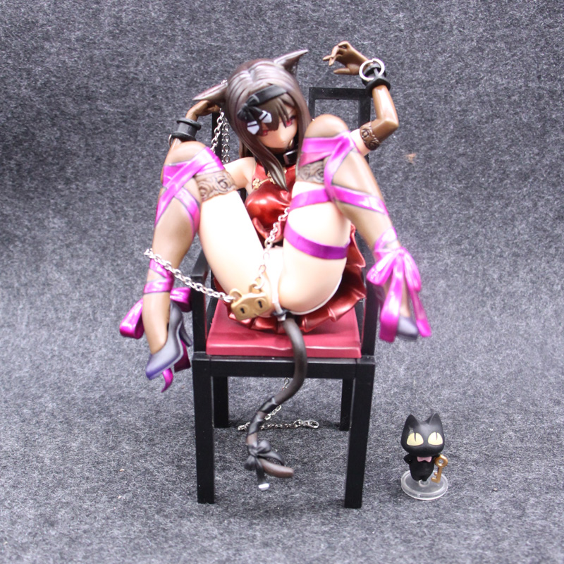 Anime Embrace Japan Planet of the Cat and Chairs Brinquedos Sexy Pvc Action Figure Girl 1/10 Sexy Collection Model Toys-in Action & Toy Figures from Toys & Hobbies    1
