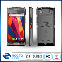 NFC Smart Card Reader 5inch Touch screen mobile terminal handheld logistic pda with android 1D 2D barcode scanner and RFID C50