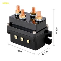 12V Winch Solenoid Relay Controller 500A DC Switch 4WD 4x4 Boat ATV Control For JEEP BMW
