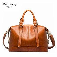 2015 frauen Echtem Leder Handtaschen Messenger Bags Umhängetasche Mode Solide Handtasche Neue Vintage Bolsa Feminina Crossbody-tasche