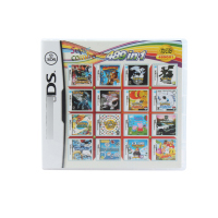489 In 1 Compilations Video Game Cartridge Card For DS Game Console Super Combo Multi Cart