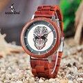 BOBO VOGEL Holz Uhren Männer Uhren Mode Holz Neue Design Quarz Armbanduhr Akzeptieren LOGO DROP VERSCHIFFEN|Quarz-Uhren|   -
