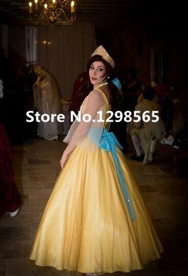 العرف الأميرة اناستازيا اللباس الأصفر اناستازيا اناستازيا تأثيري حزب اللباس للمرأة الكبار