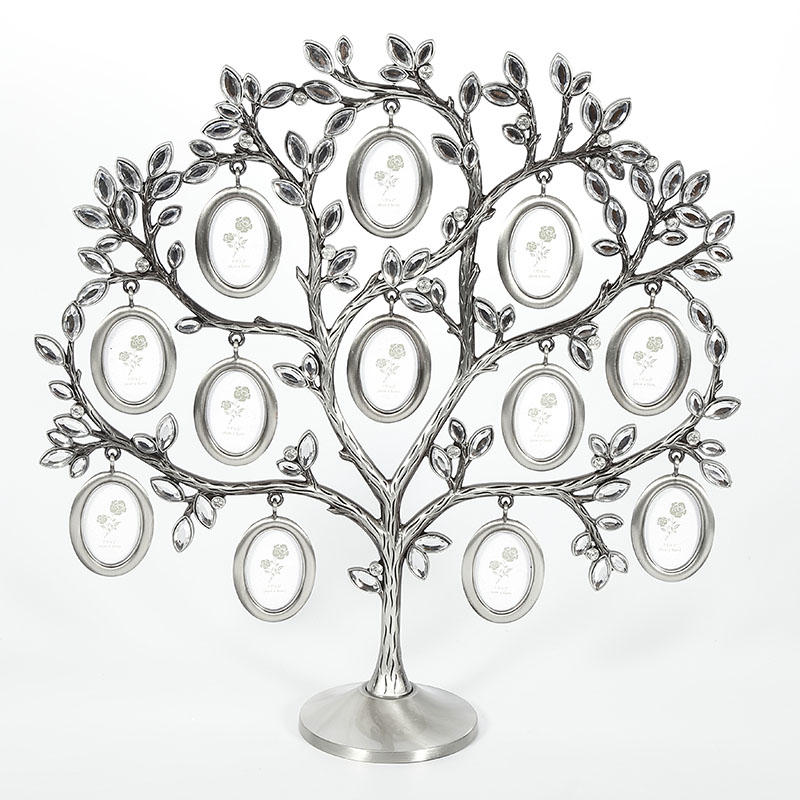 Hot Sale Family Tree Hanging Photo Picture 12 Frame Holder