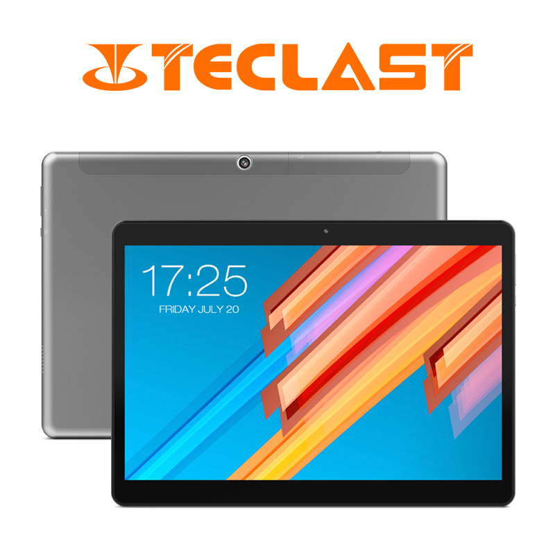 10.1 pouces 2560*1600 Tablet PC Teclast M20 MT6797 X23 Deca Core Android 8.0 4 GB RAM 64 GB ROM Double 4G Téléphone Comprimés Double Wifi GPS