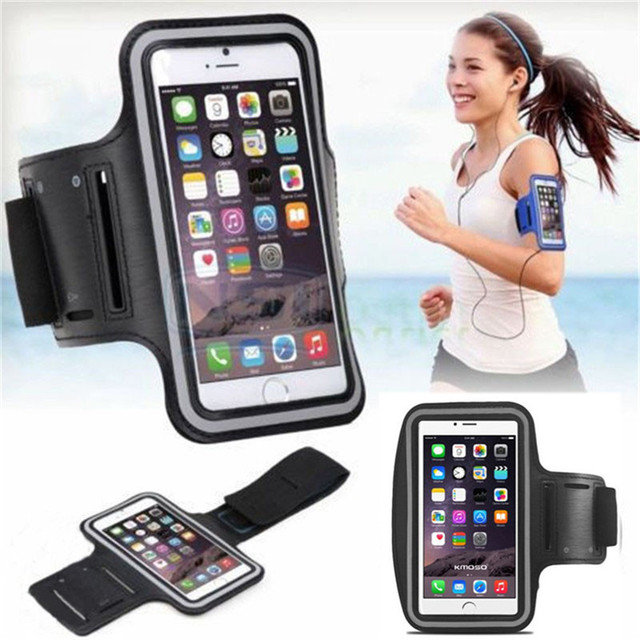 promo code 3a4fd c1d15 US $3.54 29% OFF Sports Running Case for iPhone 5S 6 6S 7 Plus Cases Cover  Gym Arm Band Sport Cover Holder Bag Phone Cases for iPod Touch 4 5 6-in ...