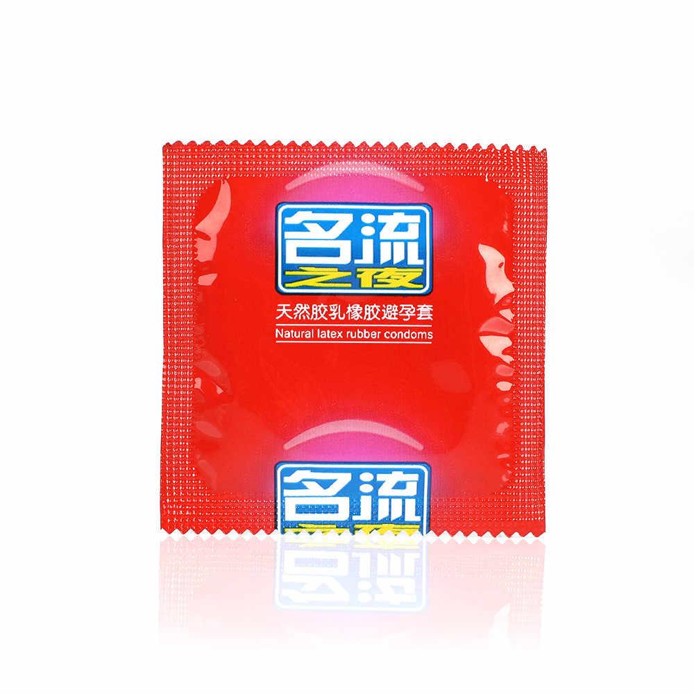 100 Pcs Mingliu Kualitas Tinggi Alami Lateks Kondom Penis Lengan Kondom Pelumasan Membenarkan Lebih Aman Kontrasepsi untuk Pria Toko Seks