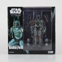 15 cm Star Wars số 005 Boba Fett PVC Hành động Hình sưu tập mẫu búp bê đồ chơi Boba Fett