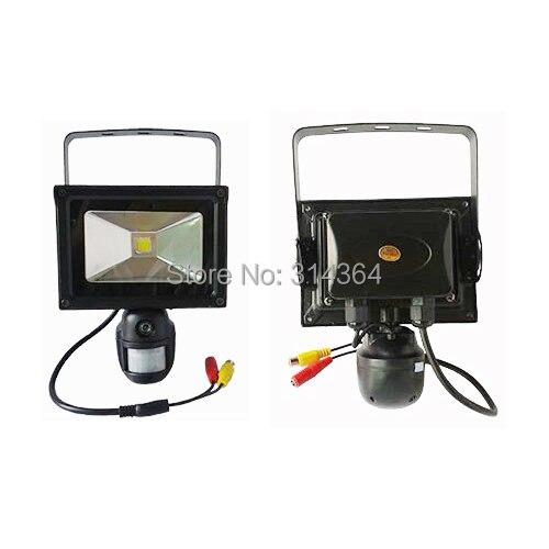10W Flood Fight 720P Motion Camera/ Mini DVR Security Camera For Home/ Video Recorder PIR Garden ...