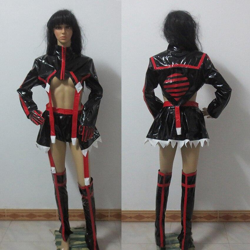 Kill LA Kill Matoi Ryuuko cos fighting suit uniform Cosplay Costume Halloween costume Custom Made Any Size