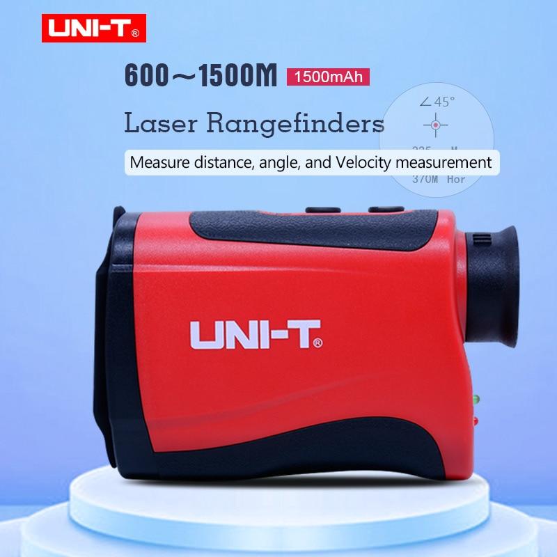 UNI T Telescope Laser Distance Meter Laser Rangefinder 600m 800m 1000m 1200m 1500m Portable 7x Golf