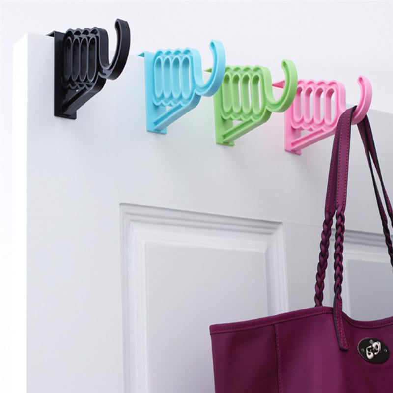 Over The Door Garment Hanger Hook Multifunctional Wall Hanging Hook Door Back Hook Coat Key Towel BagCoat Key Towel Bag Hooks