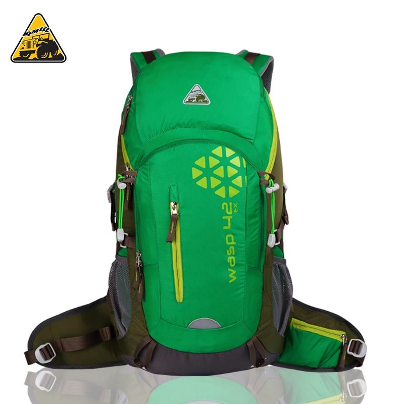 40L KIMLEE Waterproof Professional Backpack For Men& WomenTeenager Bag Rucksack With Rain Cover Bag Pack large Hot Sale тени seventeen тени для век компактные сатиновые silky shadow satin 232
