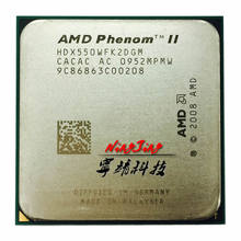 AMD Phenom II X2 550 3.1 GHz Dual-Core מעבד מעבד HDX550WFK2DGM שקע AM3(China)