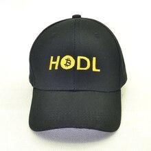 HODL Bitcoin Hat 100%Cotton Dad cap for women Trending Rare Baseball Caps Bitcoin Sign Embroidery Snapback hats men prypto bitcoin for dummies isbn 9781119076414