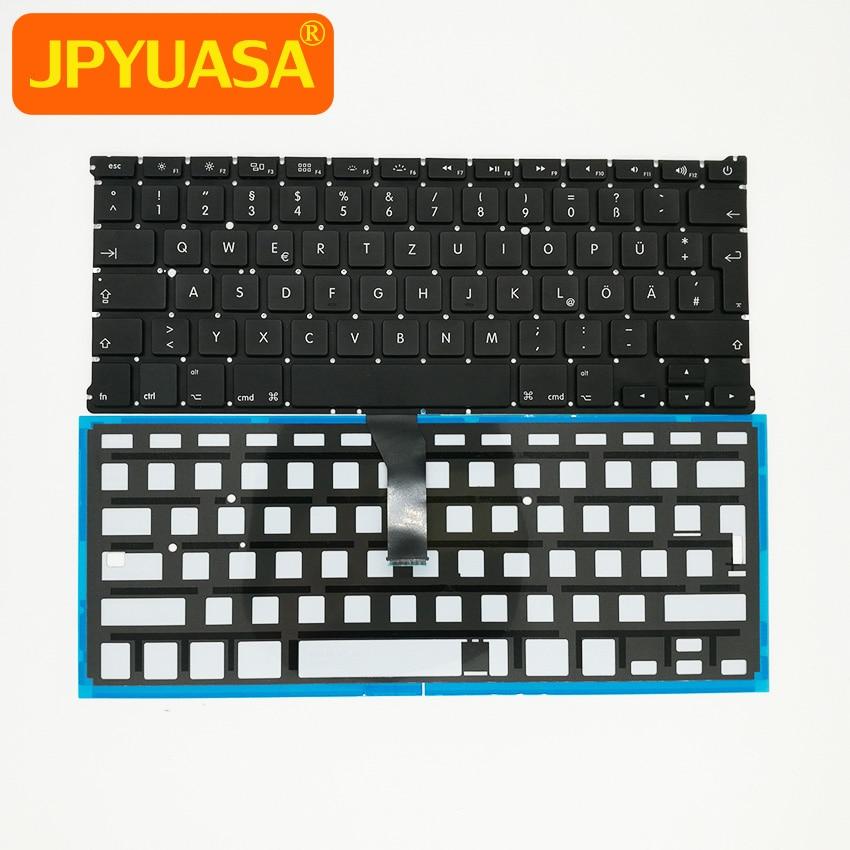 New Laptop Replacement Keyboard GR German Keyboard witt Backlight For Macbook Air 13 A13 ...