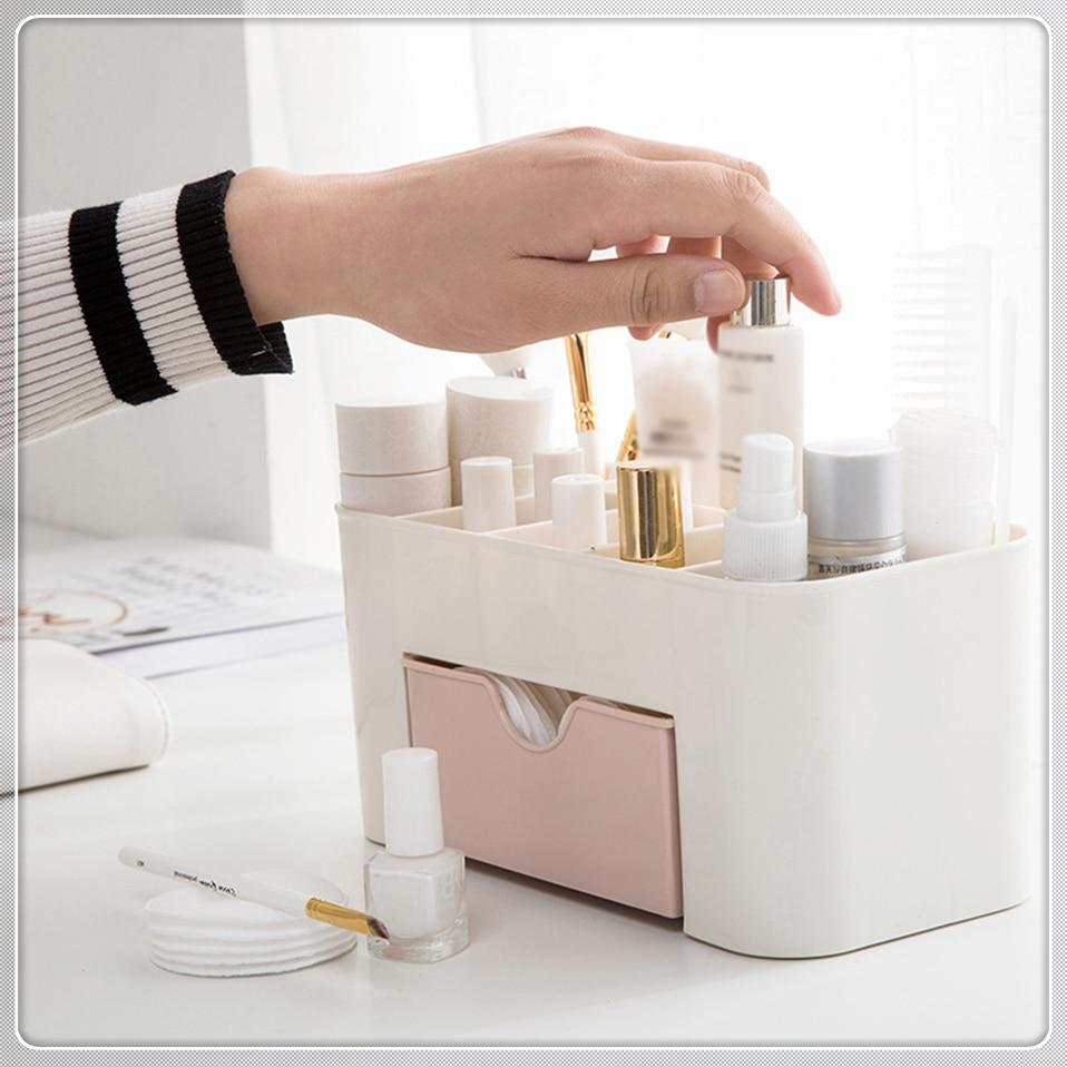 HTB1et4OmCcqBKNjSZFgq6x kXXaj - Msjo Makeup Box  Jewelry Necklace Nail Polish Earring Plastic Organizer Storage Box