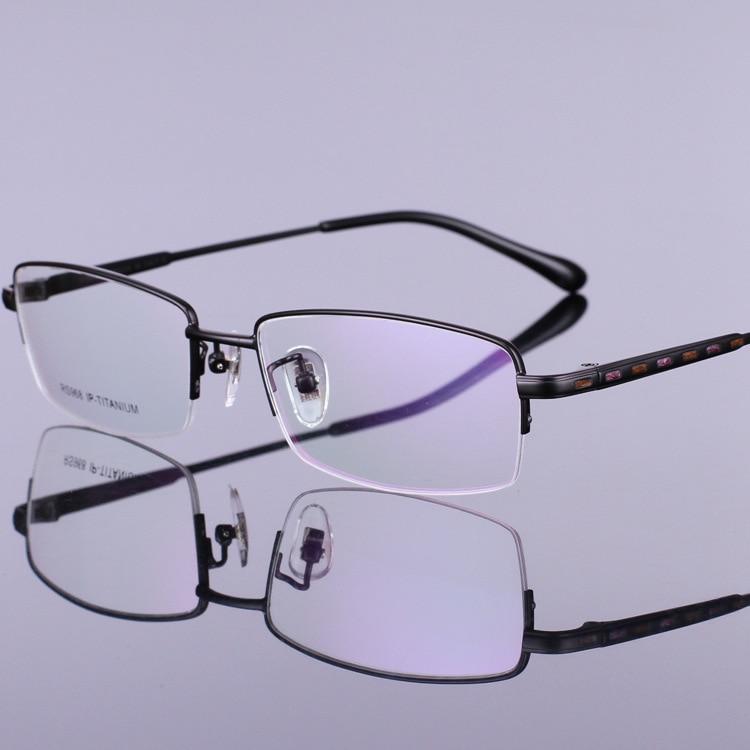 Novi vzorci čistega okvirja očal iz titana, okvirji očala za - Oblačilni dodatki - Fotografija 3