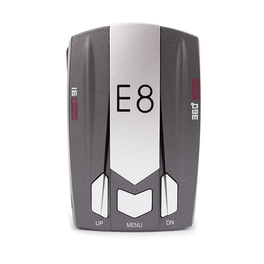 GEYIREN E8 Car Radar Detector Mobile Speed Testing Voice Alert and Speed Alarm Detection Safety