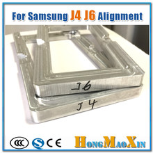 One piece Precision Metal Mould Mold for samsung J4 J400 J400DS J6 J600 J600F 2018 version LCD Outer Glass Alignment(China)
