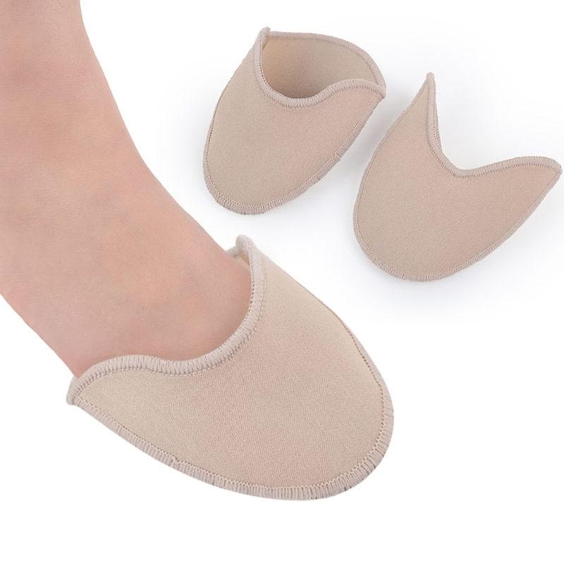 1 Pair Ballet Dance Tiptoe Toe Caps Cover Pads Protector Cushion Feet Care Tool