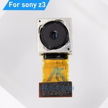 Dower Me Rear Main Back Camera For Sony Xperia Z3 D6603 D6653 D6633 Dual Big Camera Flex Cable Replacement Parts