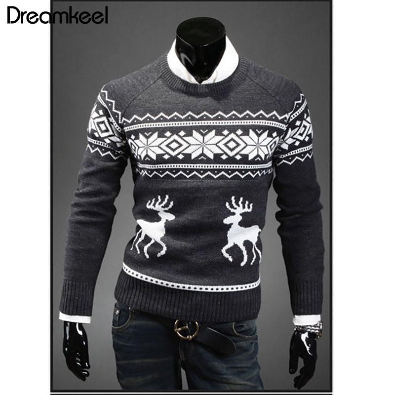 3a7a2184e4d1b 웃 유 Big promotion for men reindeer sweater and get free shipping ...