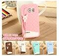Cute 3D Ice Cream Cartoon TPU Silicon Case Cover For Samsung Galaxy S6/ S6 Edge/ S6 Edge Plus Back Cover Phone Case Accessories