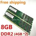 Бесплатная Доставка!!! НОВЫЙ 8 ГБ (4 ГБ X 2) DDR2 800 240-КОНТ DIMM PC2-6400 DDR800 800 МГц Для Материнских Плат AMD обои для рабочего памяти