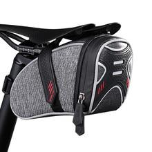 Wheel up Bicycle Bag rear Rainproof Saddle Bag Reflective Bag For Bike Mountain Cycling Rear Seat Bag MTB A Bike Accessories