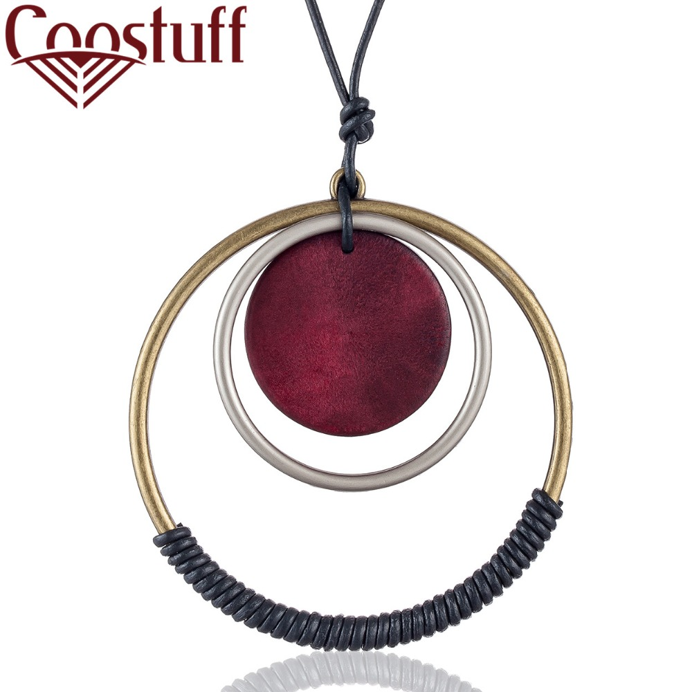 Fashion Women Pendant 2019 Layered Necklace Jewelry Bijouterie Choker Long Female Big Initial Neck Chain Decoration For Gifts