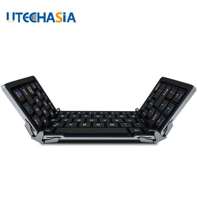 Multifunctional Bluetooth 3.0 Foldable Keyboard for iOS, Android, Windows, PC, 7/8/9/10 Inch Tablets & Smartphones