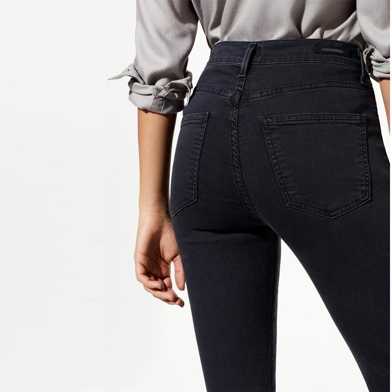 2017 Modaberries women skinny jeans blacs