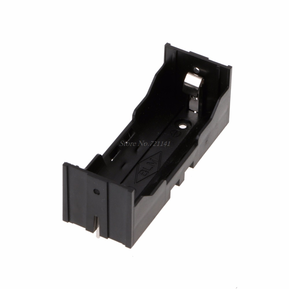 1Pc 26650 Battery Holder Battery Storage Case For 26650 3.7V Lithium Battery Electronics Stocks