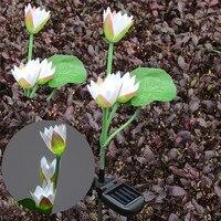Energia słoneczna Ogród Kwiatowy Udziałów Krajobraz Krajobraz Światła Lampy Ogrodowe na zewnątrz LED Hurtownie Darmowa Wysyłka 30RI1
