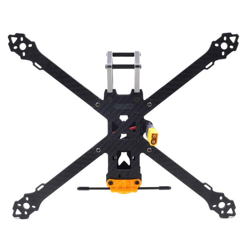 High Quality Geprc GEP-KHX7 Elegant 7 Inch 300mm Wheelbase 4mm Arm 3K Carbon Fiber FPV Racing Frame Kit For RC Models DIY Parts geprc diy fpv mini drone gep bx5 flyshark quadcopter 3k pure carbon fiber frame for the racing 4 5 6 4mm main arm plate