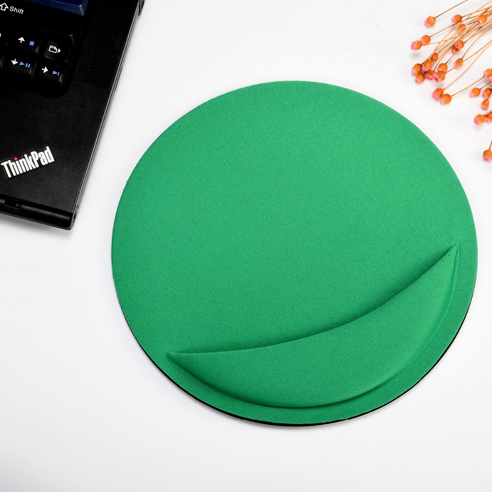 Mouse Pad Anti Slip Circular Gel Mice Mat Rest Computer PC Gaming Wrist Support