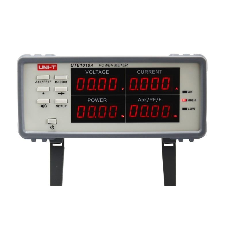 Uni-t Bench True RMS Voltage Current Digital Power Factor & Power Meter Analyzer Range 3000W UTE1010AUni-t Bench True RMS Voltage Current Digital Power Factor & Power Meter Analyzer Range 3000W UTE1010A