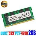 Бренд! ноутбук Оперативной Памяти DDR2 PC2-4200 533 200PIN SO-DIMM/PC2 4200 DDR 2 533 МГц 200 PIN 2 ГБ Для Sodimm Ноутбук Memoria ОЗУ