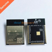 50 PCS ESP32 WROOM 32D Wi Fi + BT + BLE ESP32 מודול 32 Mbits 4 MB פלאש זיכרון Espressif מקורי טוב יותר RF perfermance