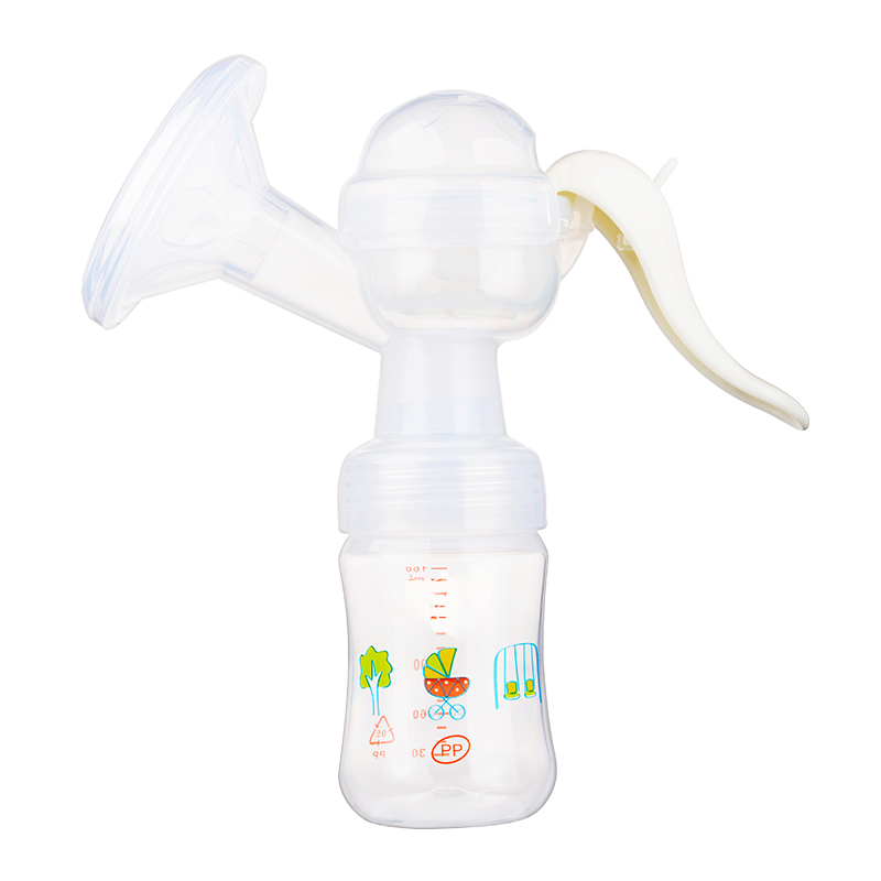 Manual Adjustable Large Suction Breast Massage Sucking Milk Sucker Massager Puller Milker Pump Nursing Bottle