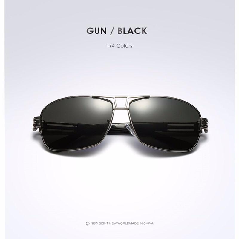 Roupai Polarized Super Cool Military Glasses For Police Driving Mens Square Anti Glare Sunglasses UV400 377 (13)