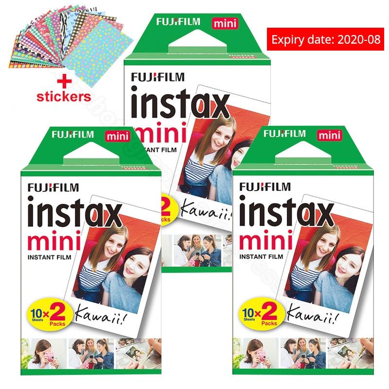 Fuji Fujifilm Instax Mini 9 Film Papiers Photo Pour Instax Mini 9 7 s 8 90 70 25 55 Instantanée polariod Caméra Part SP-2 SP-1 Imprimante